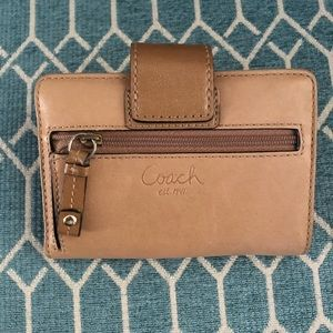 Authentic Coach Wallet- Small